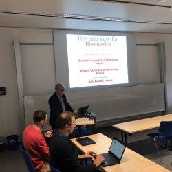 Prof. Khalid Saeed lecture at Bonn University